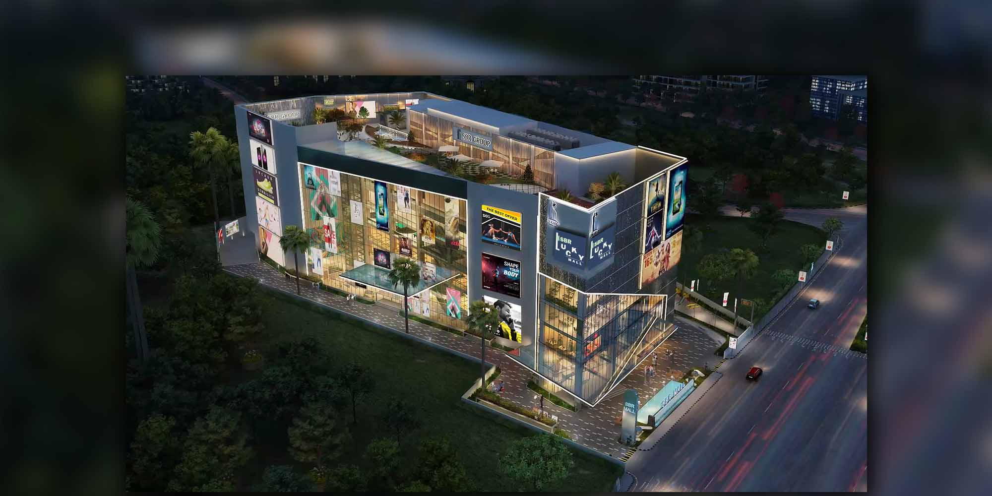 SBR Mall Electronic City Commercial Project